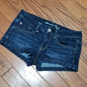 American Eagle Outfitters stretch jean shorts EUC